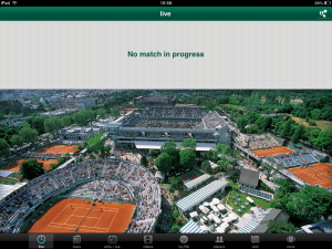 Roland Garros no play