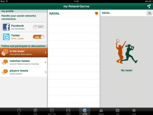 Roland Garros in the buzz screenshot